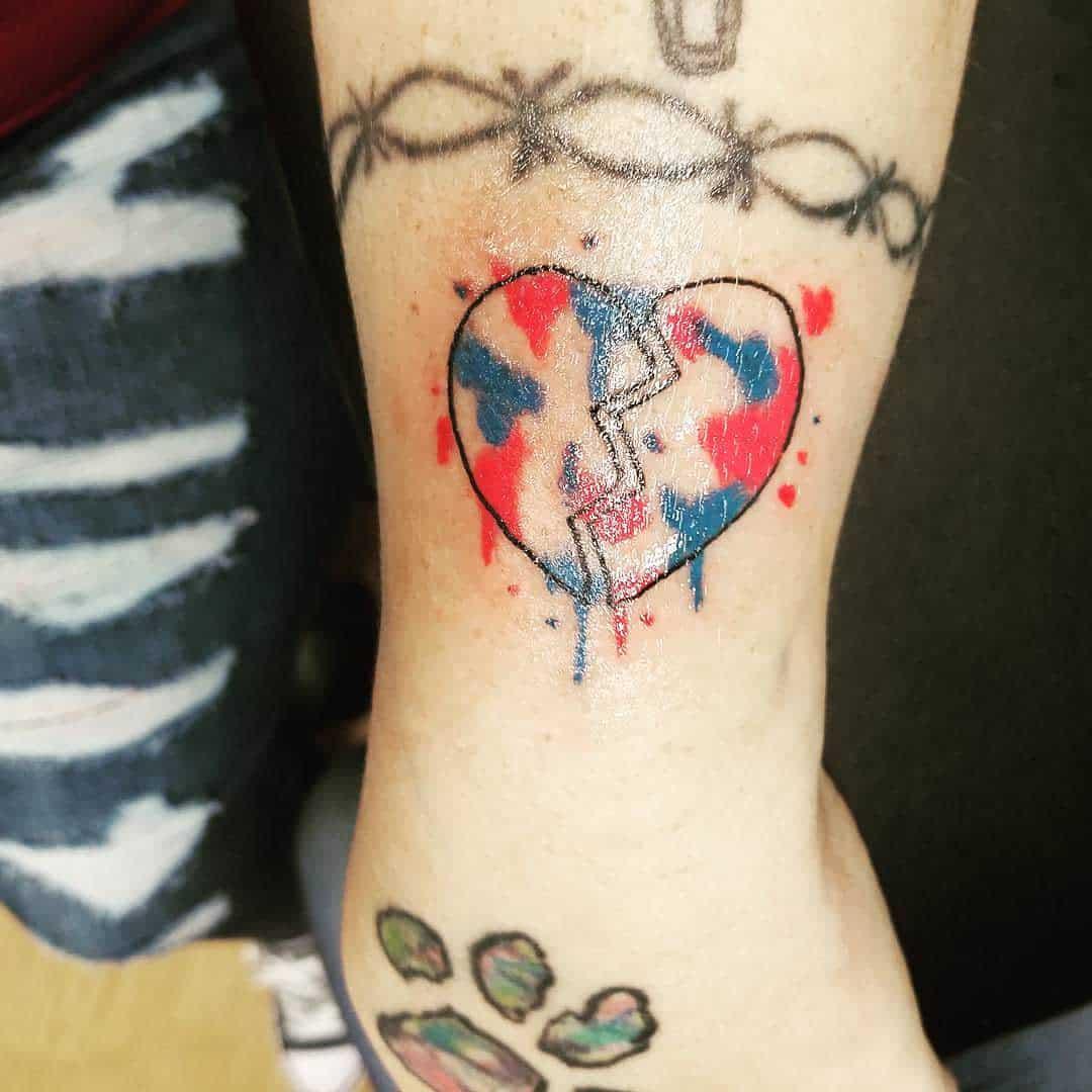 Heart Miscarriage Tattoos -lifewithchiari1