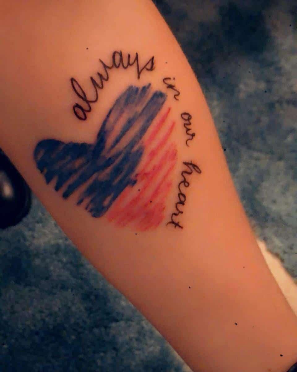Heart Miscarriage Tattoos -mrs_daniella_hammond