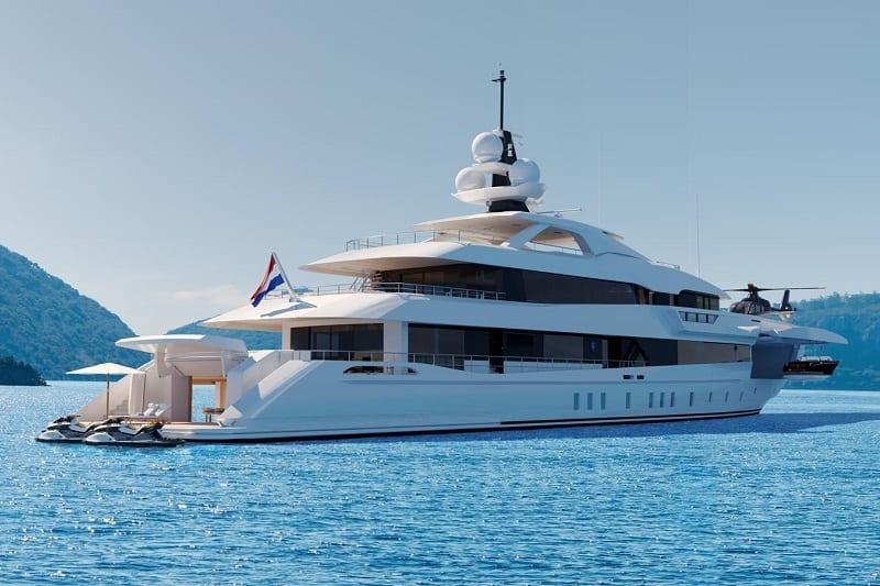 Heesen Luxury Yacht