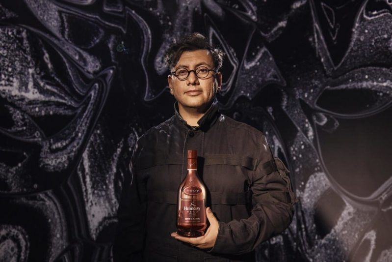 Hennessy Partners With Artist Refik Anadol on Data Driven Bottle Art
