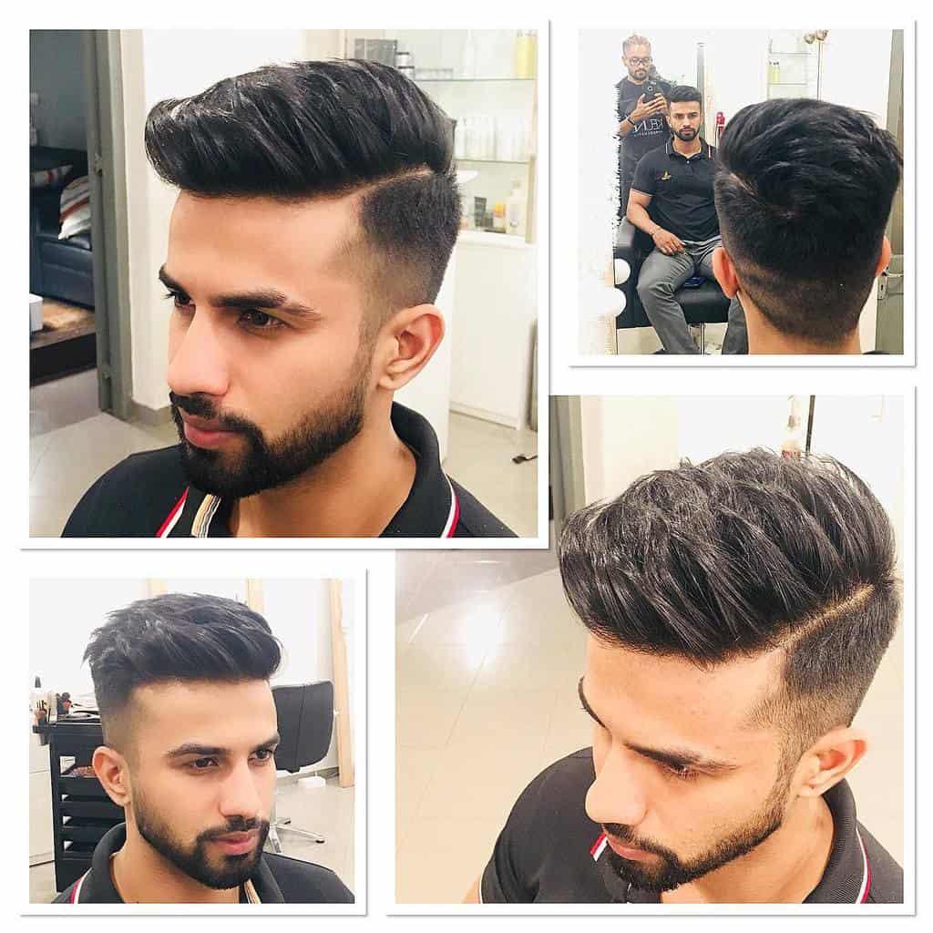 High Fades for Wavy Hair devo_da_stylist