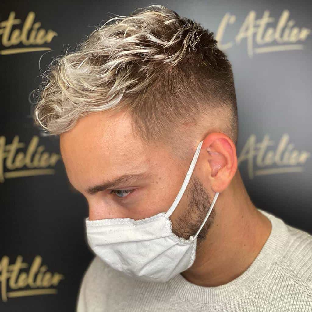 High Fades for Wavy Hair l_atelier25