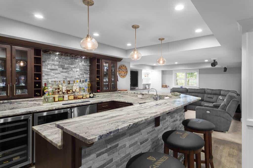 Home Wet Bar Ideas remodelwerks