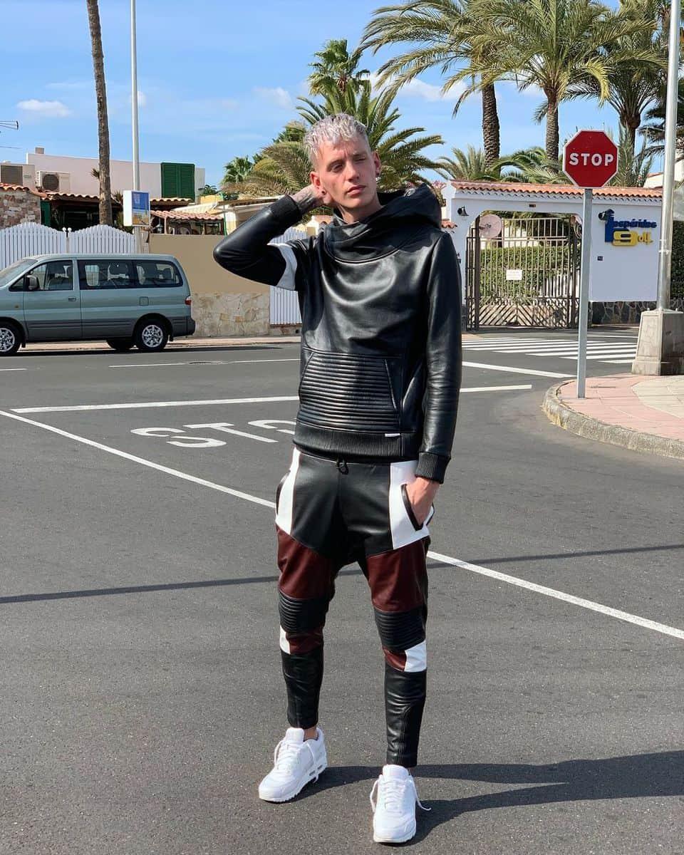 Hoodie Leather Jacket Styles -mr_riegillio