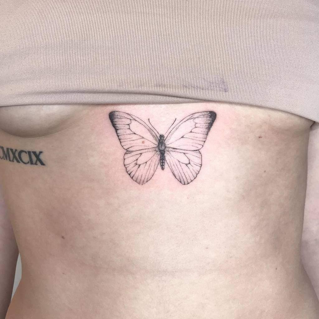 inked-butterfly-spring-singele-needle-tattoo-dianakulltattoo