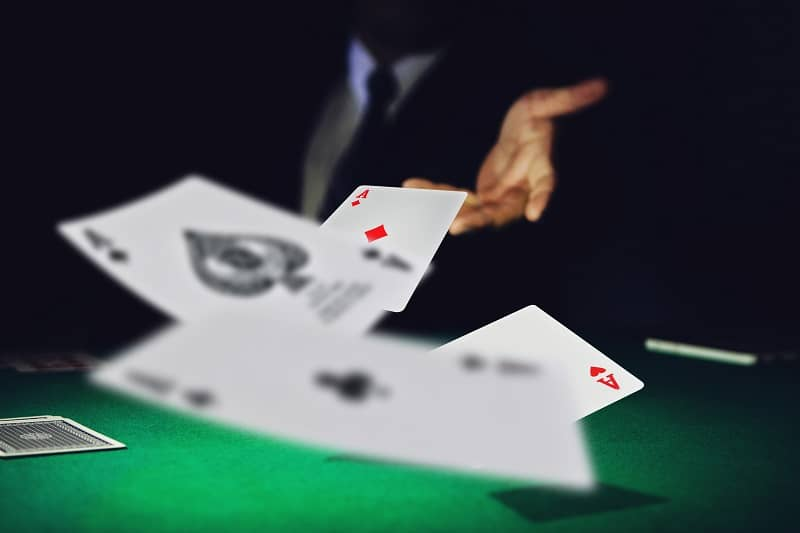 If losing, get the hell away from that table and look for a new table - BlackJack Strategy