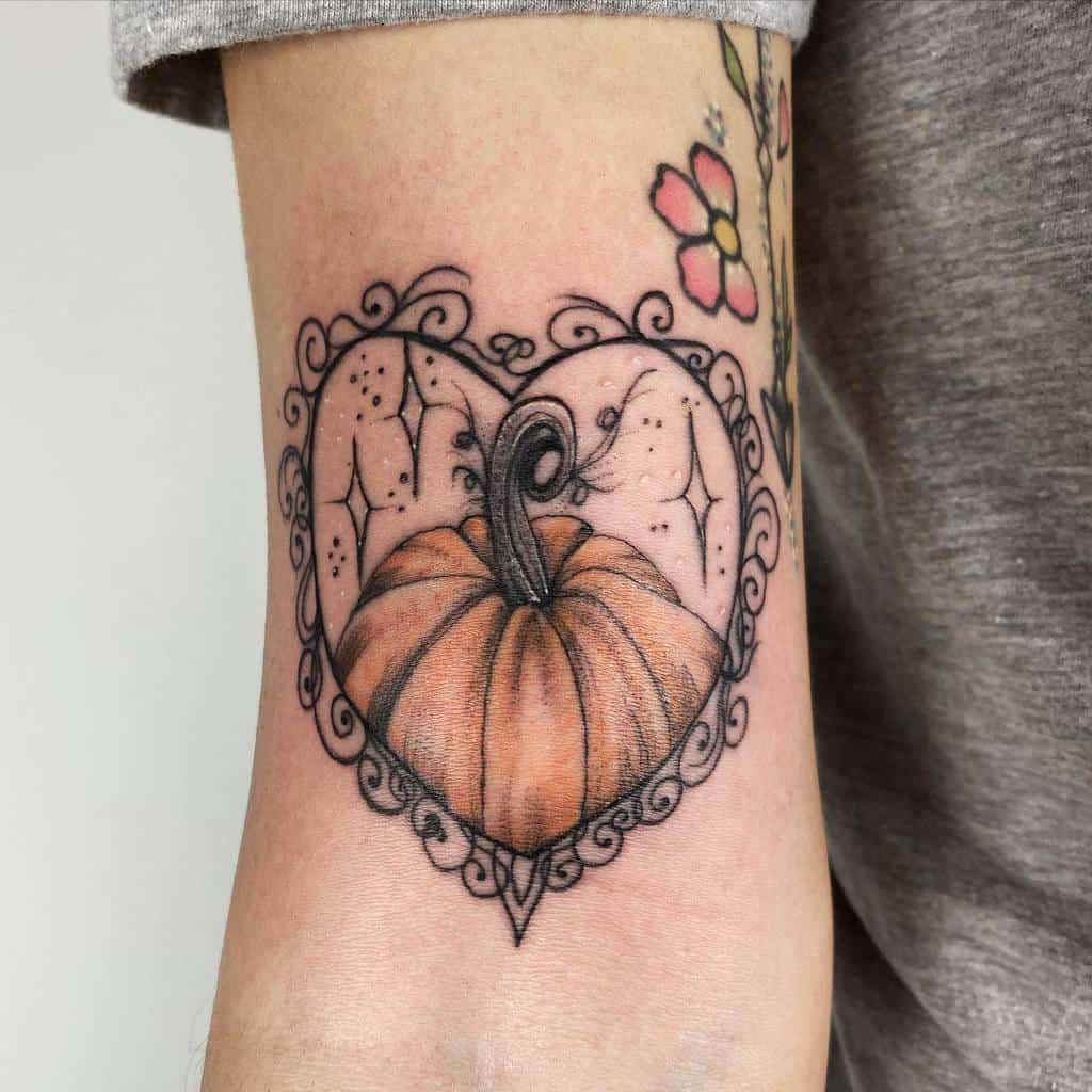 Innovative Heart Tattoo Brittany.beware