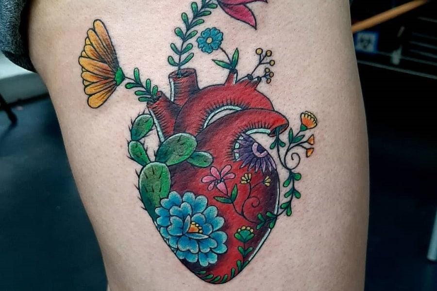 Top 63 Best Heart Tattoo Ideas – [2020 Inspiration Guide]