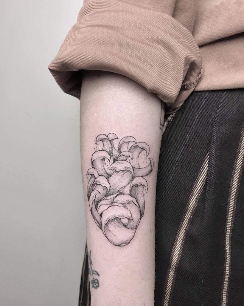 Innovative Heart Tattoo Robertamazziotti Tattoo
