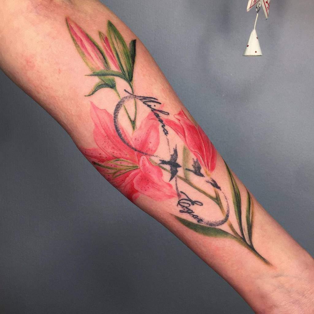 Innovative Lily Tattoo Alena Lenom