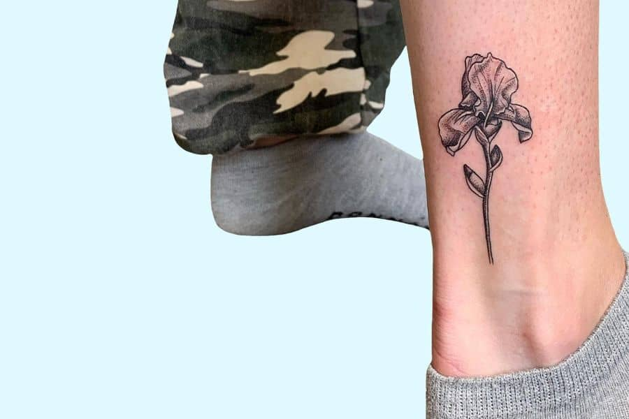 The Top 33 Iris Tattoo Ideas – [2021 Inspiration Guide]