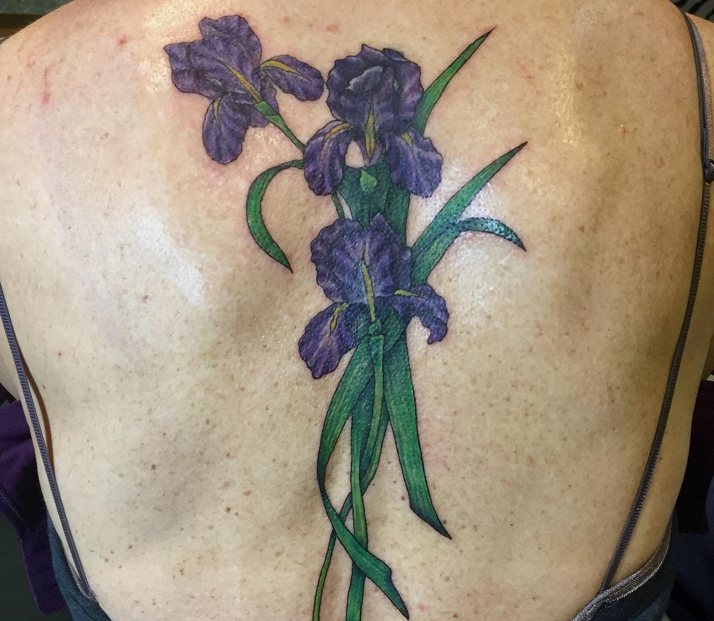 Iris Back Tattoo -zebratattooz