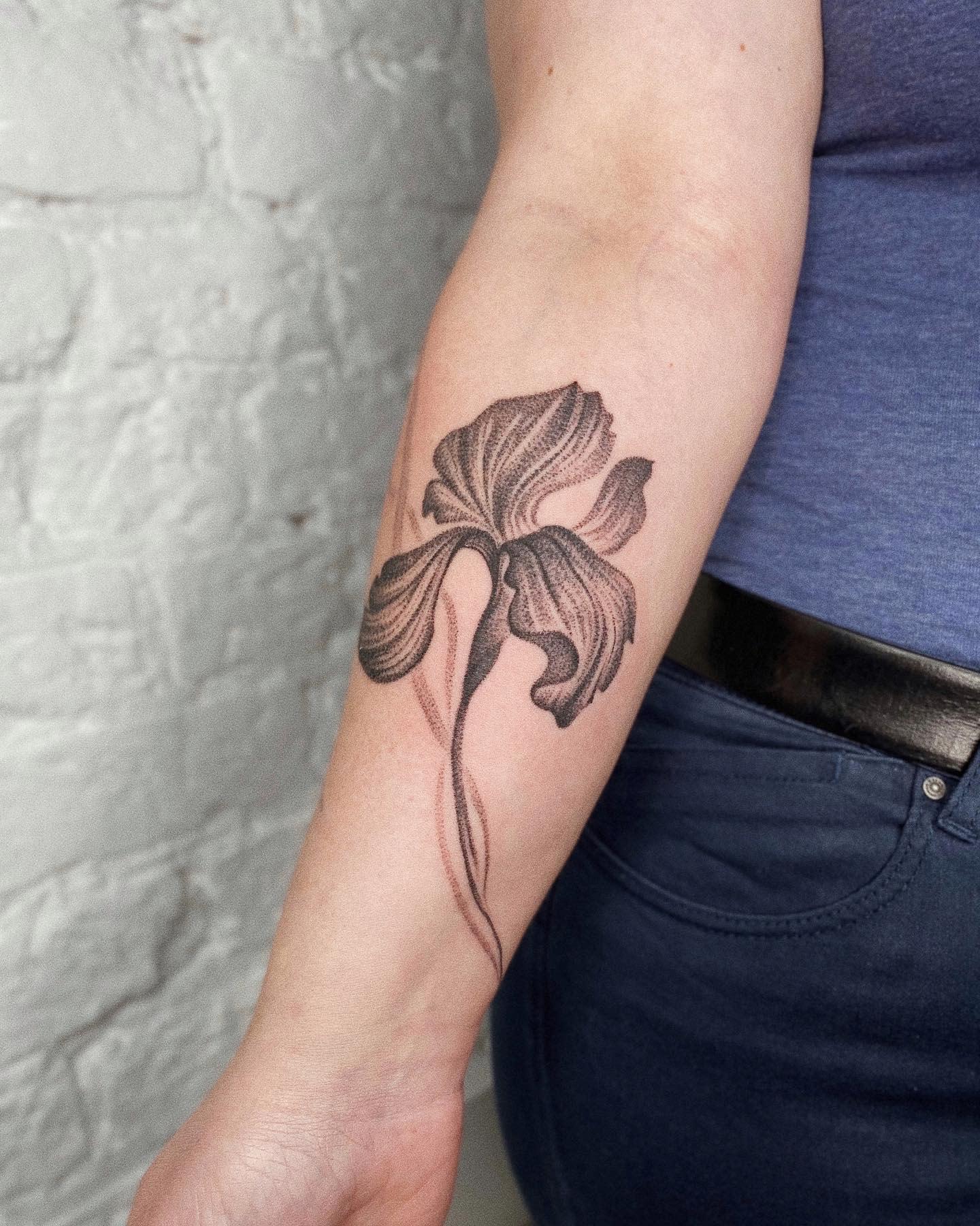Iris Forearm Tattoo -grshwsk