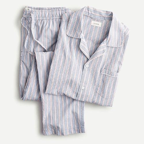 J.Crew-Cotton-Poplin-Pajama-Set
