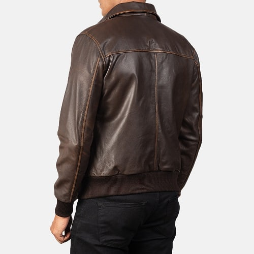 Jacket Maker Aaron Brown Back