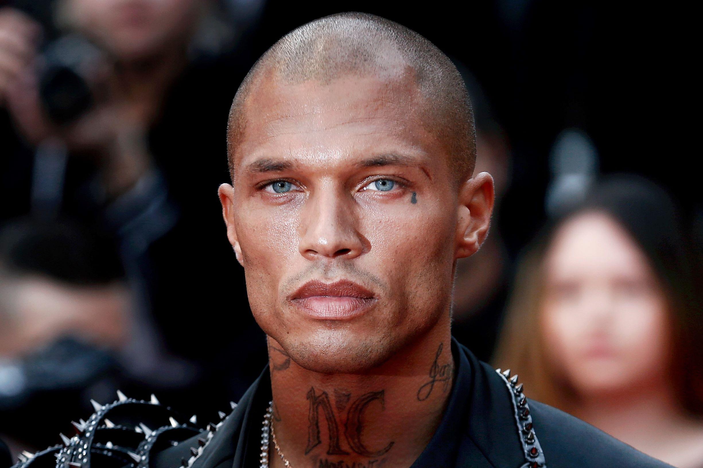 James Meeks Convict Model Teardrop Tattoo