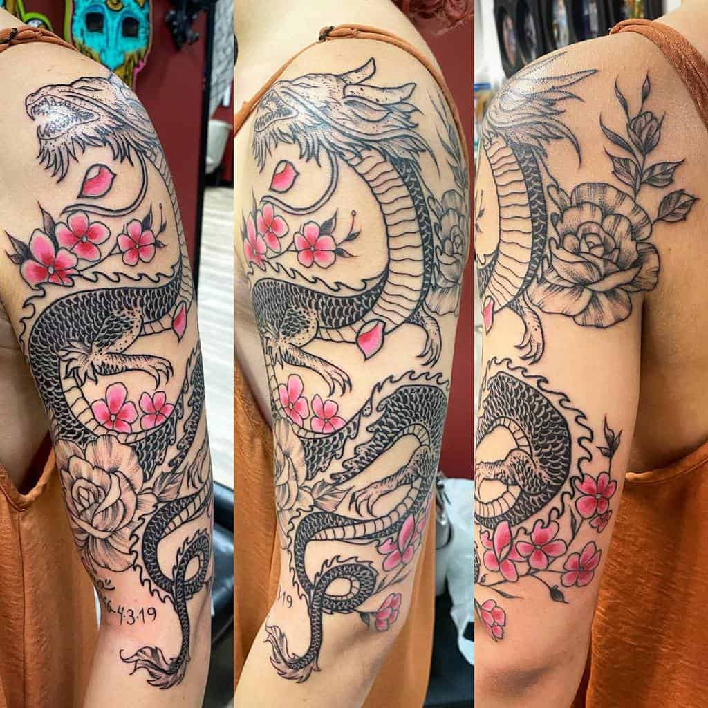 Japanese-Half-Sleeve-Tattoos-For-Women-xjlopeztattoosx