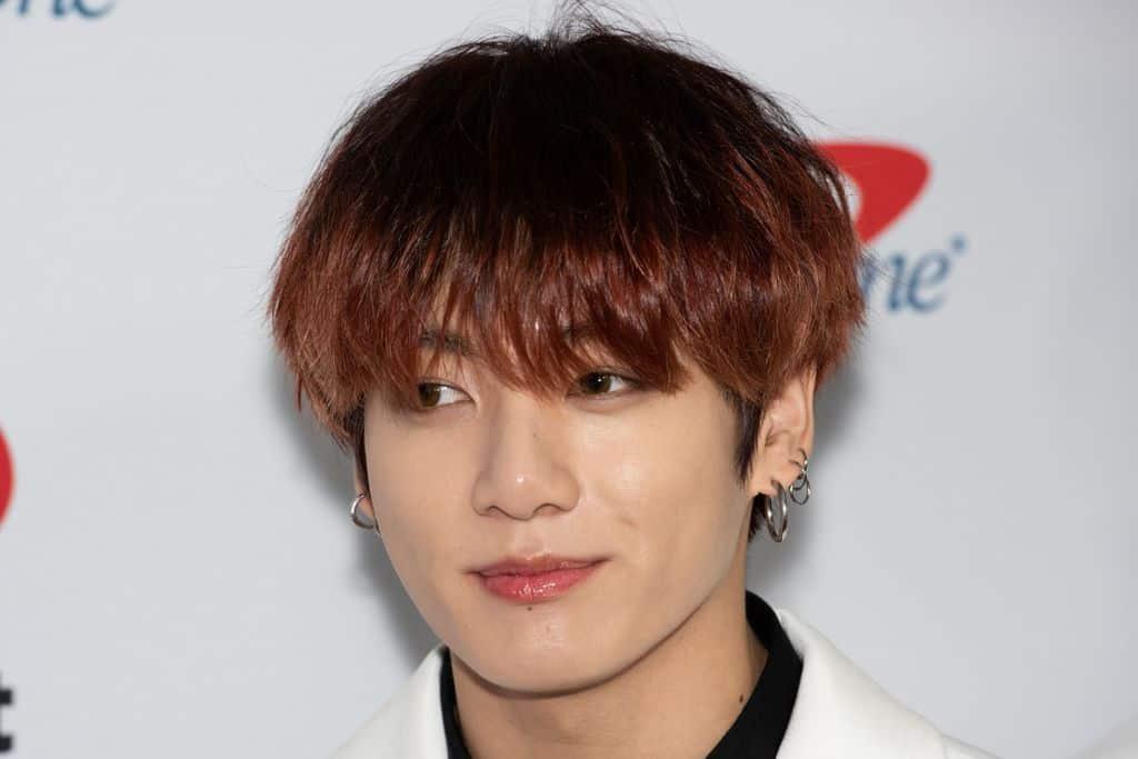 Jungkook From BTS Headshot Promo Shoot