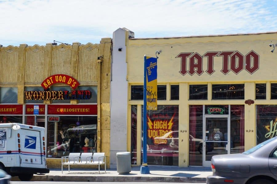 Kat Von D Tattoo Shops West Hollywood