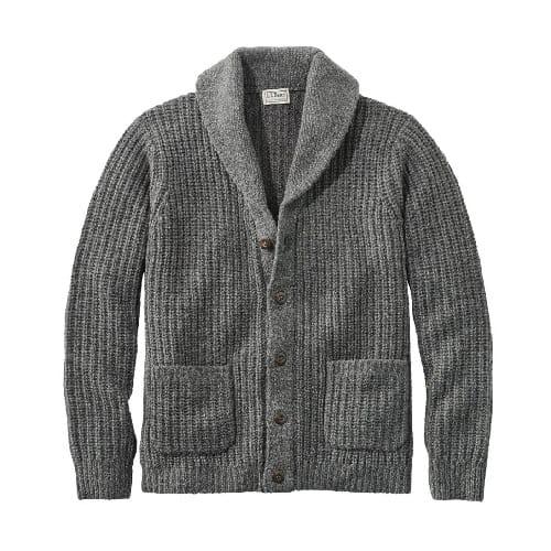 L.L.-Bean-Classic-Ragg-Wool-Cardigan