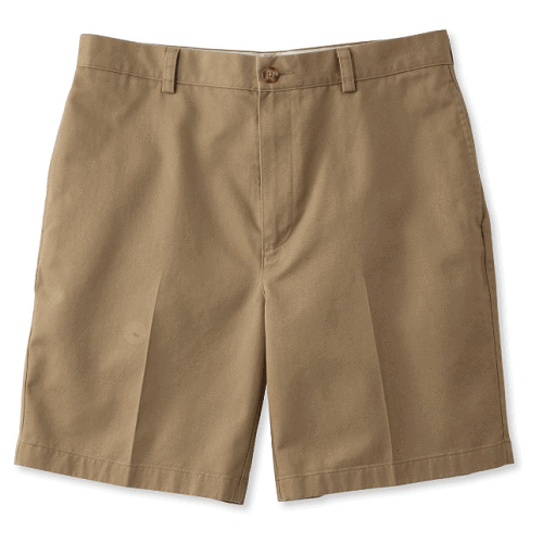 L.L. Bean Wrinkle-Free Double L Natural Fit Chino Shorts