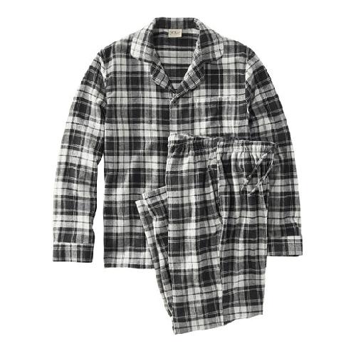 L.L.Bean-Scotch-Plaid-Flannel-Pajamas