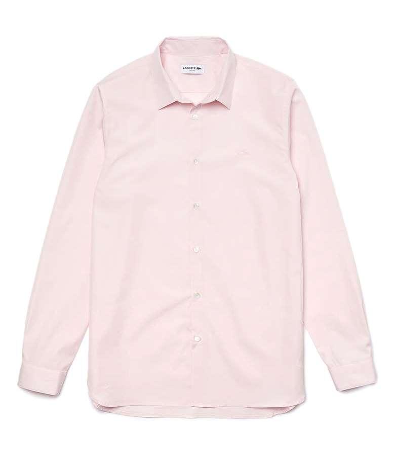 Lacoste Slim Fit Poplin Button Up Shirt