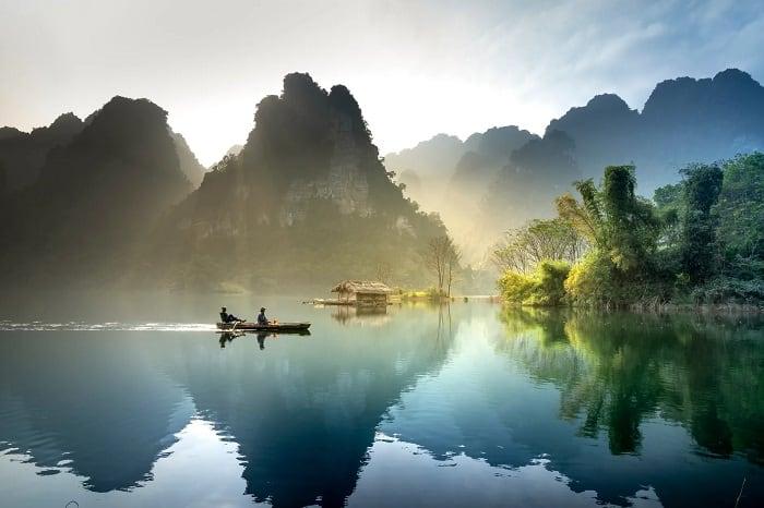 Lake In Vietnam