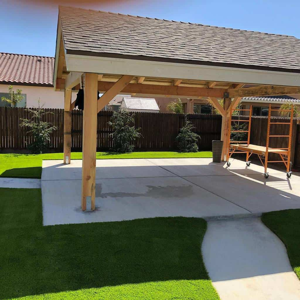 Landscaping DIY Backyard Ideas -synlawncentralcalifornia