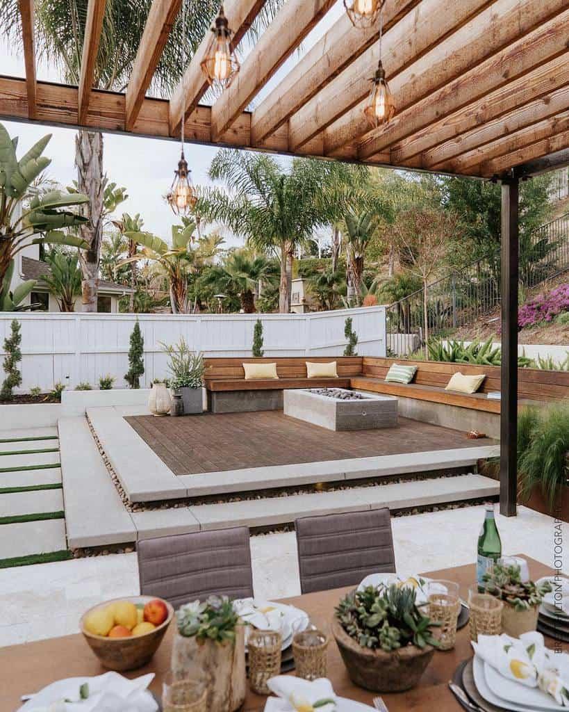 Large Deck Decorating Ideas -bretthiltonphotography