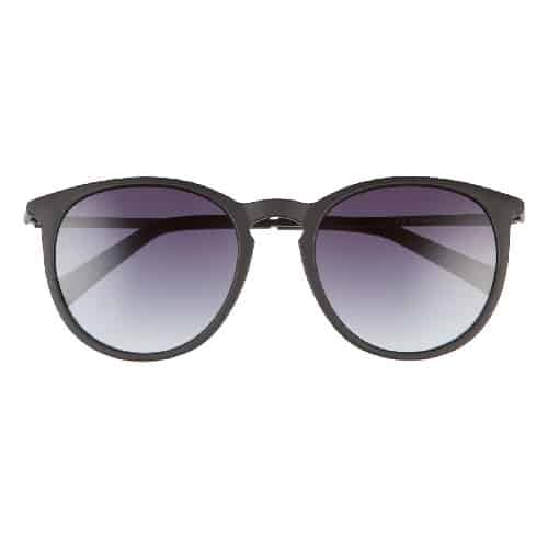 Le Specs Oh Boy Gradient Round Sunglasses