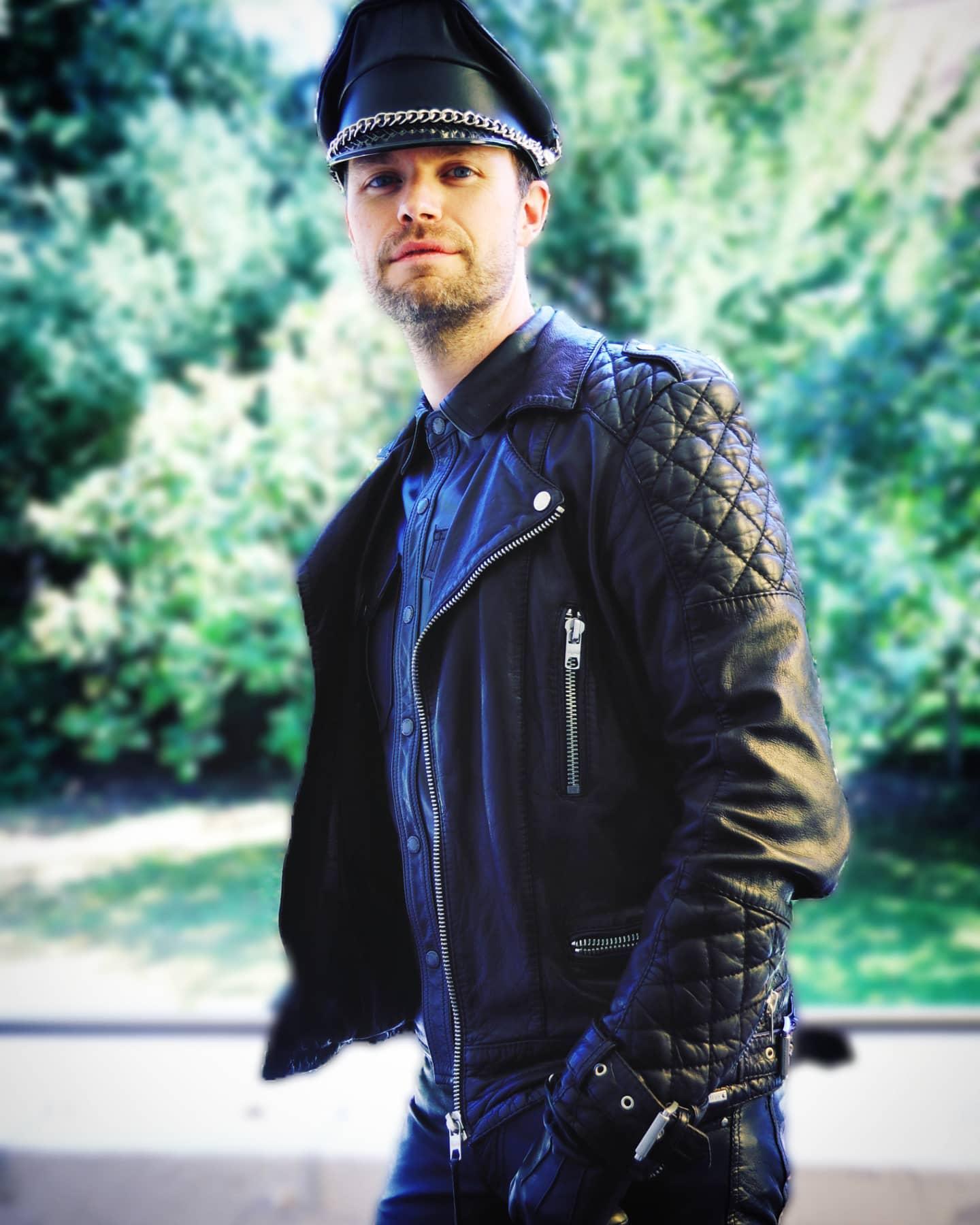 All Black Leather Jacket Styles -doublechocinsta