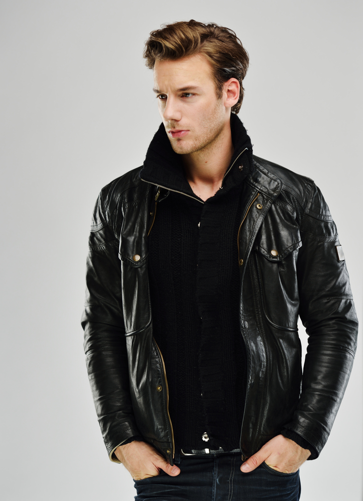 All Black Leather Jacket Styles 1