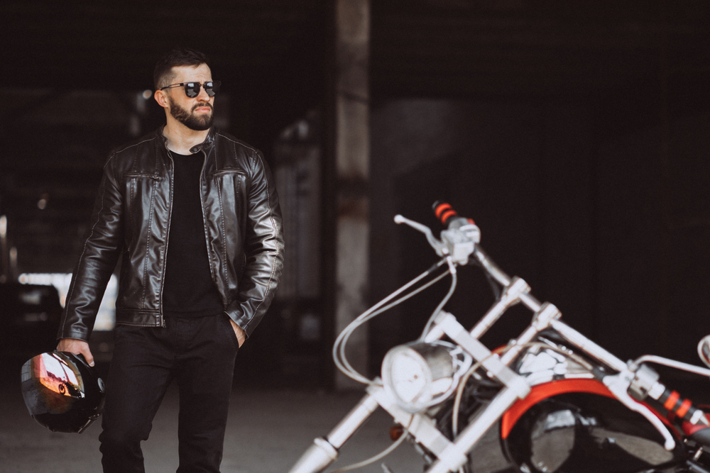 All Black Leather Jacket Styles 3