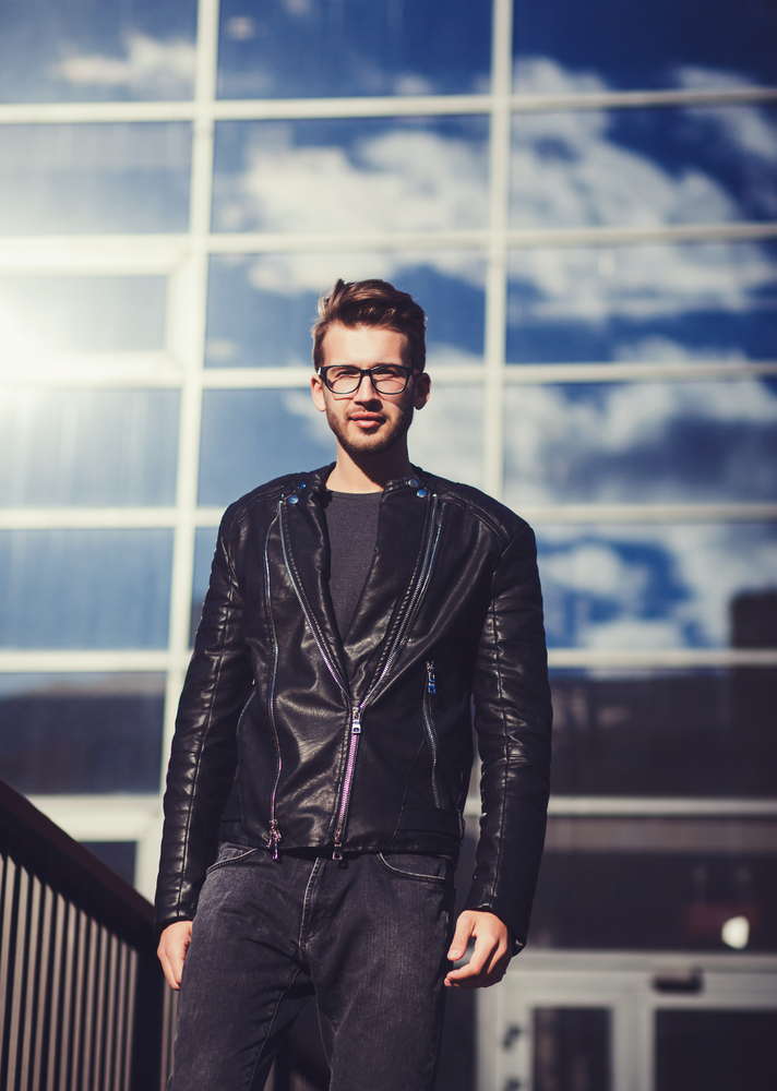 All Black Leather Jacket Styles 5