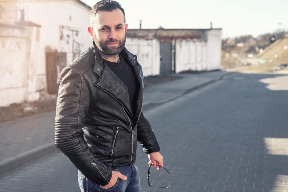 Biker Leather Jacket Styles 6