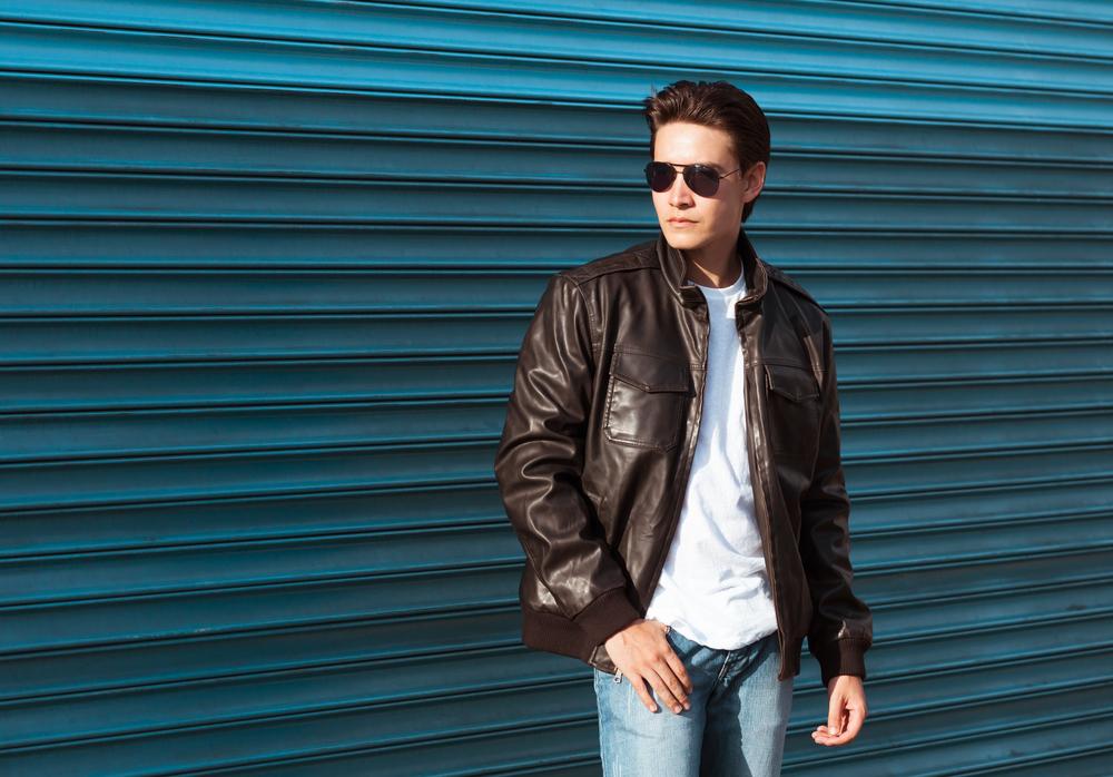 Bomber Leather Jacket Styles 2