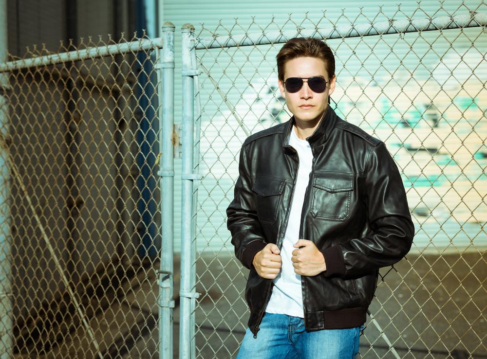 Bomber Leather Jacket Styles 3