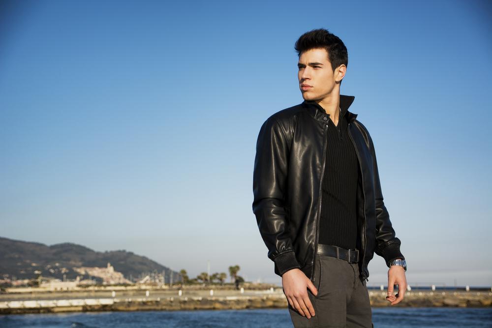 Bomber Leather Jacket Styles 4