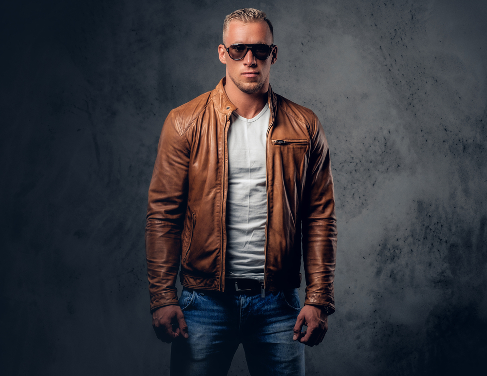 Brown Leather Jacket Styles 2