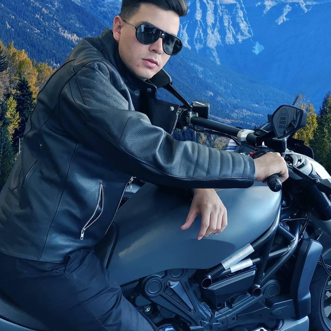Dapper Leather Jacket Styles -cecenayarce