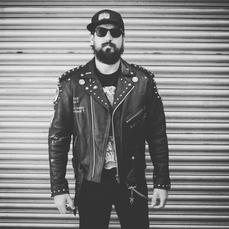 Embelish Leather Jacket Styles -utopia_vintage_club