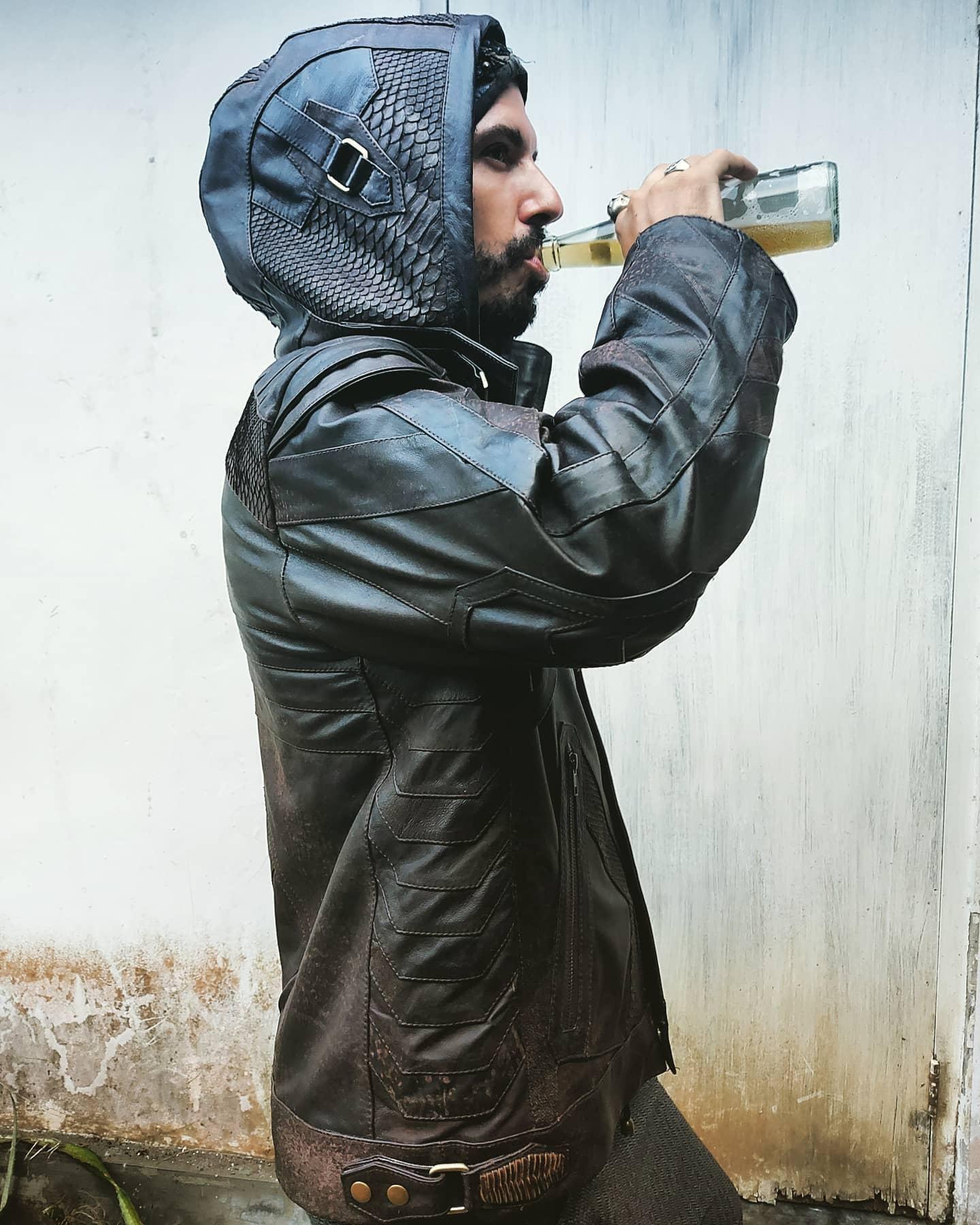 Hoodie Leather Jacket Styles -rebel_armada