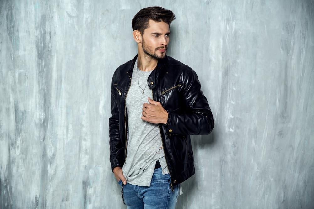 Rugged Leather Jacket Styles 1