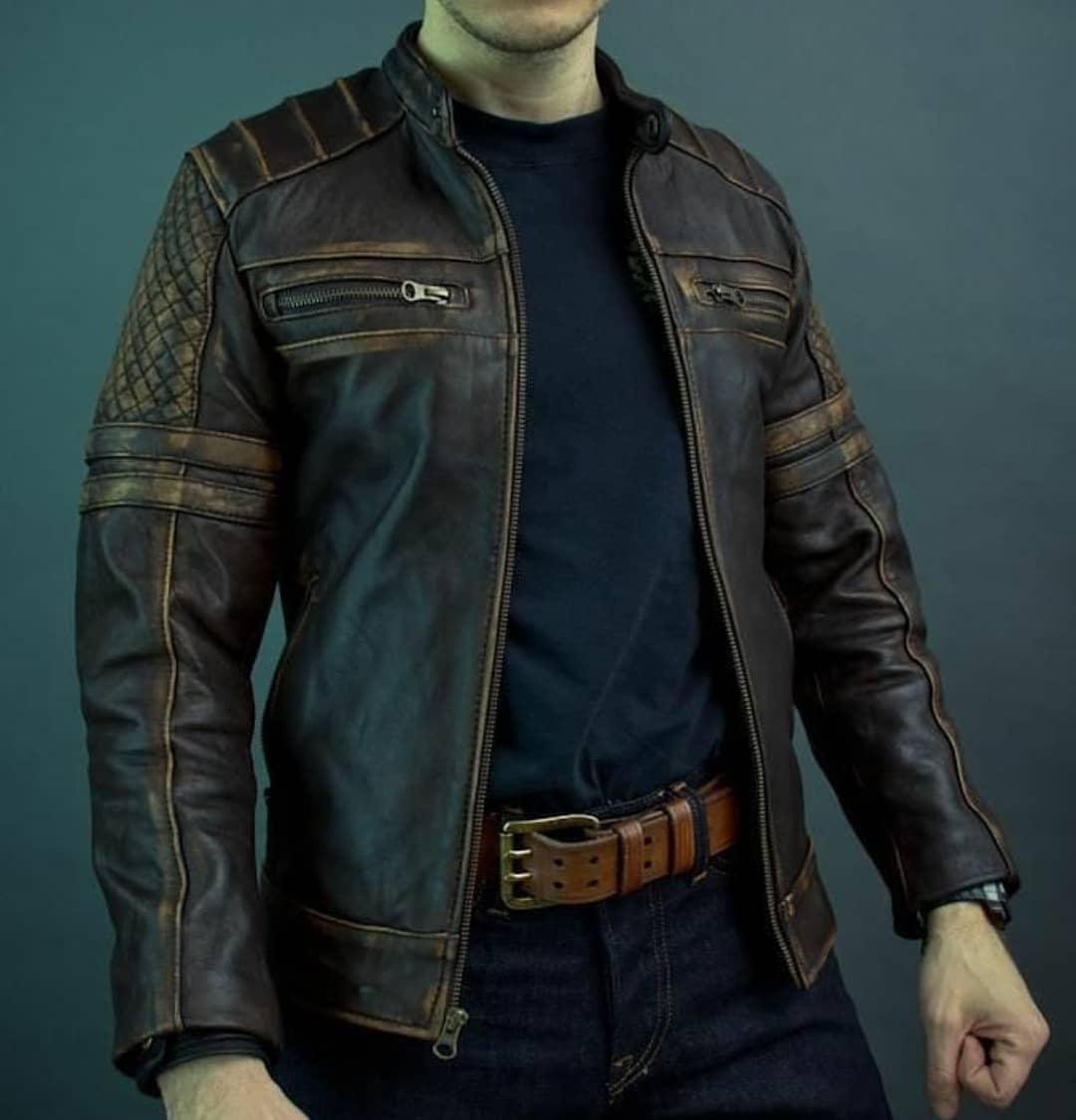 Vintage Leather Jacket Styles -leatherjacketszone