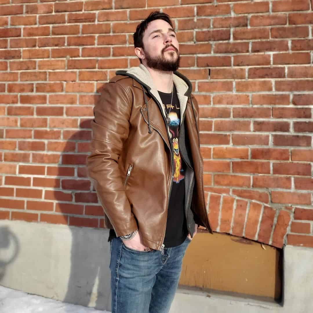 Leather and Denim Jacket Styles -cameron.geller