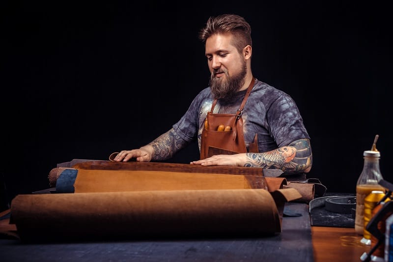 Leatherworking-Hobbies-For-Men