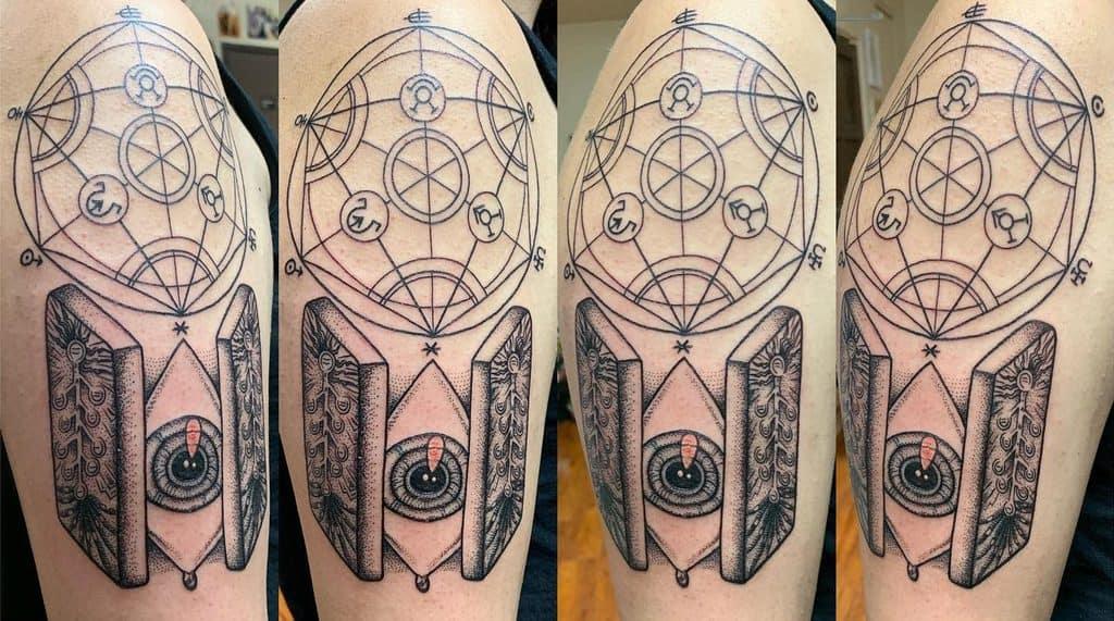 Linework Full Metal Alchemist Moonlitequeenartist