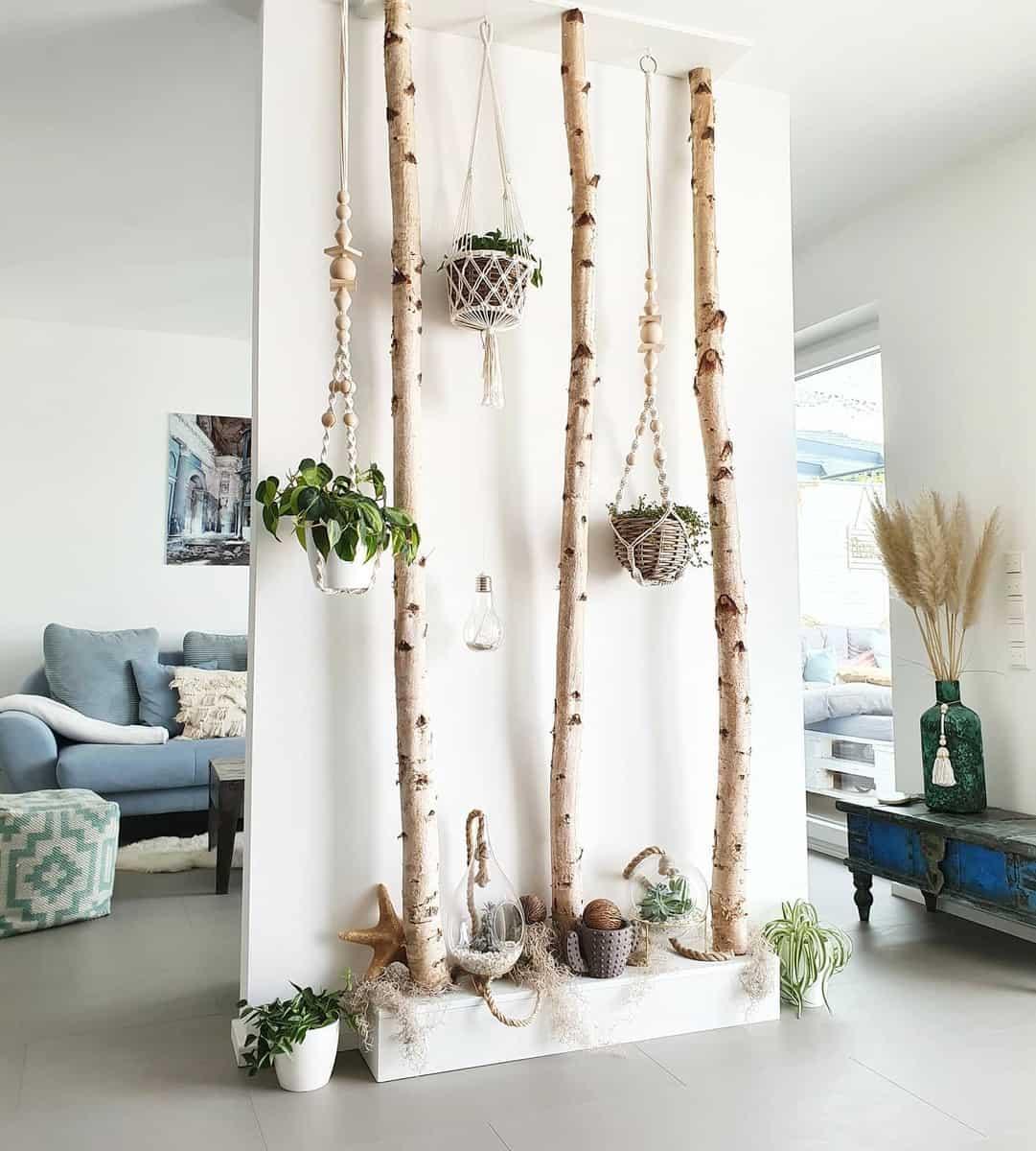 Living Room Temporary Wall Ideas -beachhouse_cologne