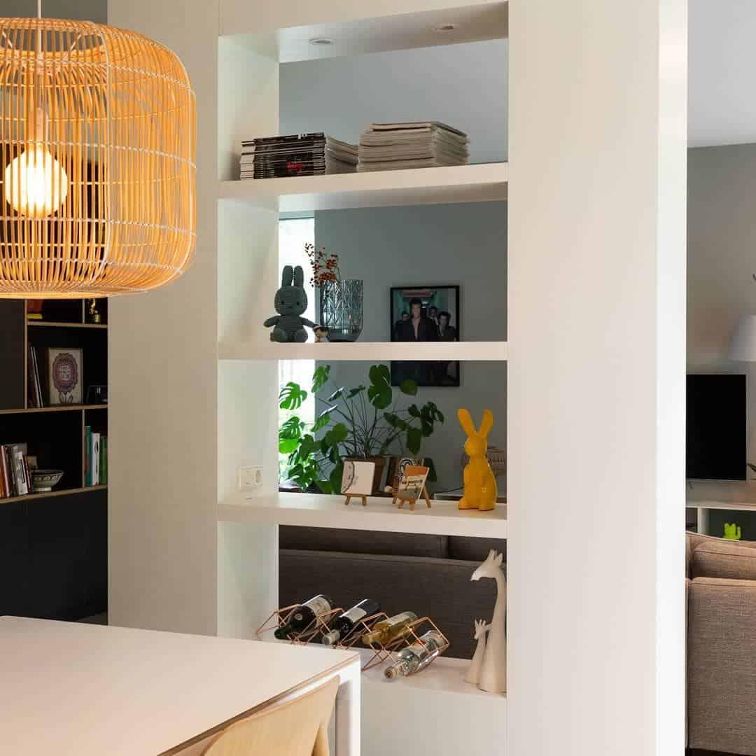 Living Room Temporary Wall Ideas -custommeubel